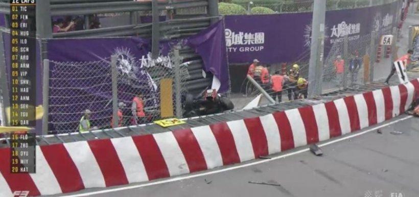 [VIDEO] El brutal accidente en la Formula 3 que está dando la vuelta al mundo... ¡Todos vivos!
